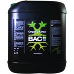 B.A.C Organic Grow Nutrients 5 liter